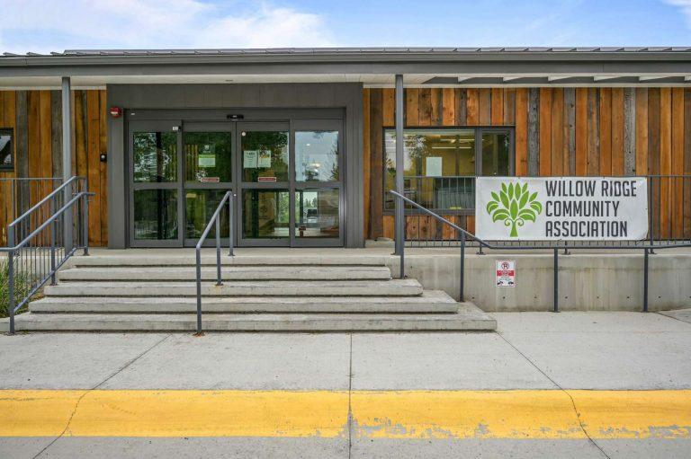 WRCA's front entranceway