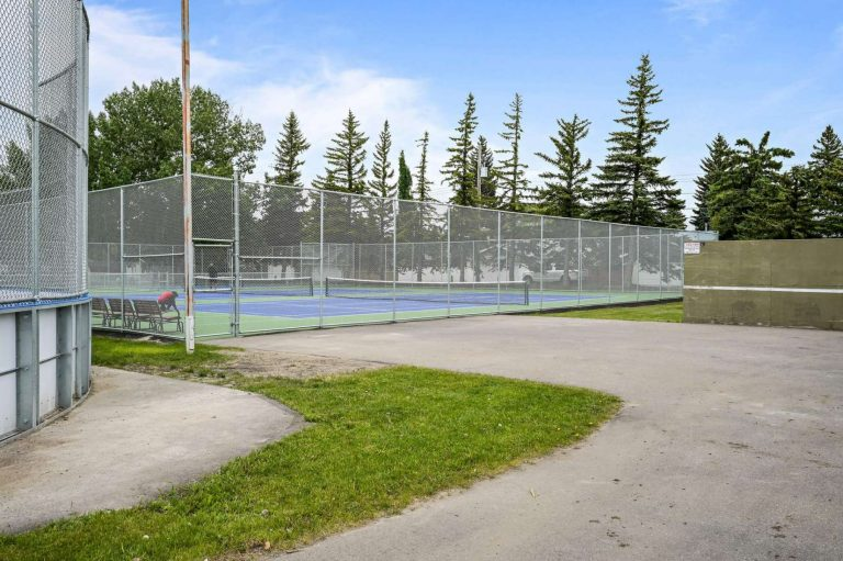 We have just finished remediation work on our tennis and pickleball courts! Book a court time now