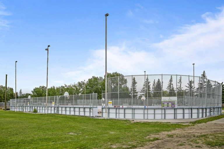 Outdoor Hockey rink and Lacrosse court