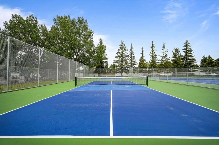 Check out our new tennis and pickleball courts!